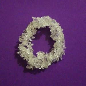 Jewelry - Clear quartz bracelet
